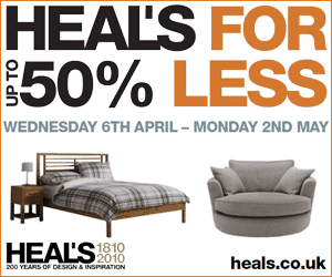 Heal's: Homeware sale
